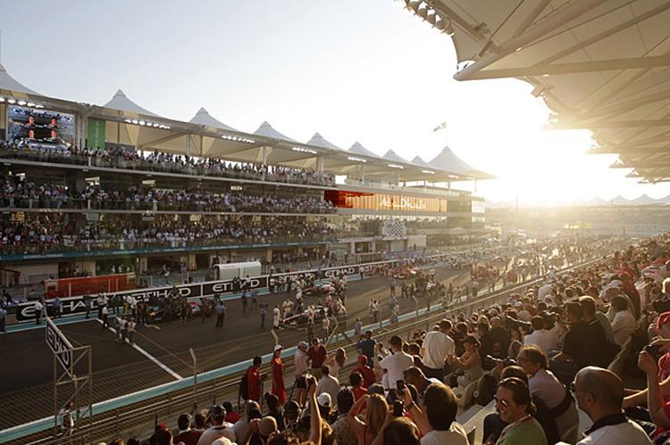 На Гран-При Абу Даби Формулы-1 съезжаются самые влиятельные и богатые люди мира
