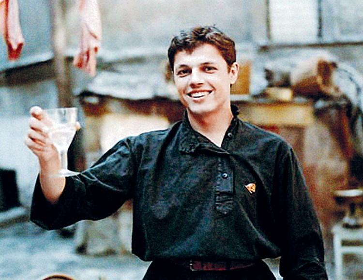 Но сыграл в фильме юный Игорь Скляр.