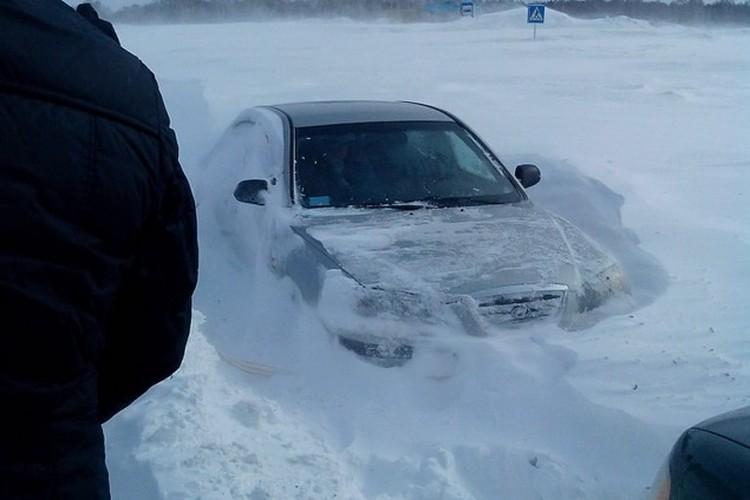 Наиболее сложная ситуация сложилась на трассе К-19Р Новосибирск - Ленинск-Кузнецкий».