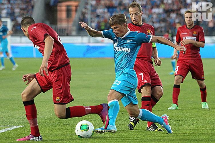 Аршавин провел блестящий матч и заслужил право выйти на поле в следующей игре в стартовом составе