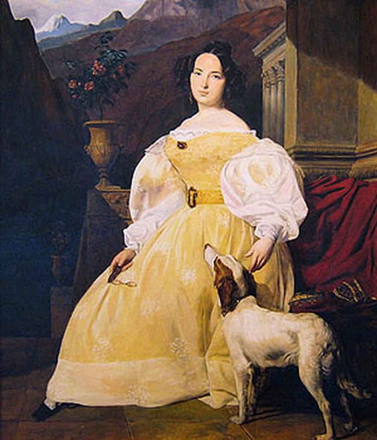 Любви Эвелины Ганской Бальзак добивался 16 лет.