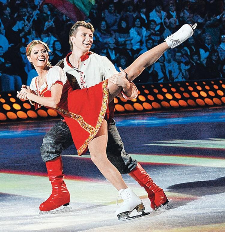 В телешоу «Лед и пламень» партнершей чемпиона стала Мария Кожевникова.
