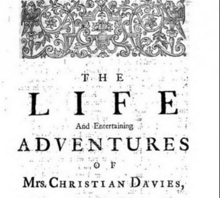 Так выглядел титульный лист книги Даниэля Дефо о Кристиан Каванаг-Уолш-Дэвис