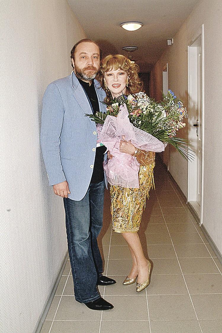 Сергей Сенин и Людмила Гурченко прожили вместе почти 20 лет.
