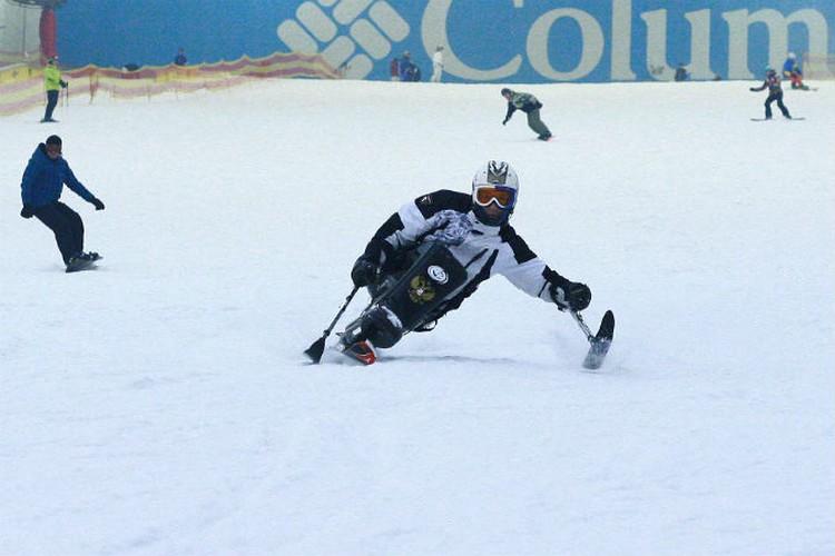 Николай много тренируется и в Красноярске