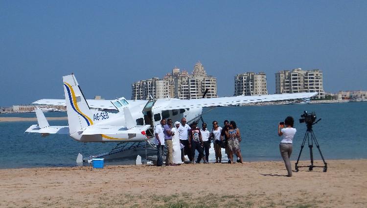 А не слетать ли нам в Дубай прямо не с пляжа?