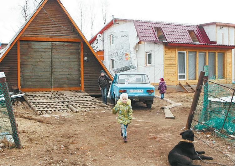 В деревне для ребят раздолье.