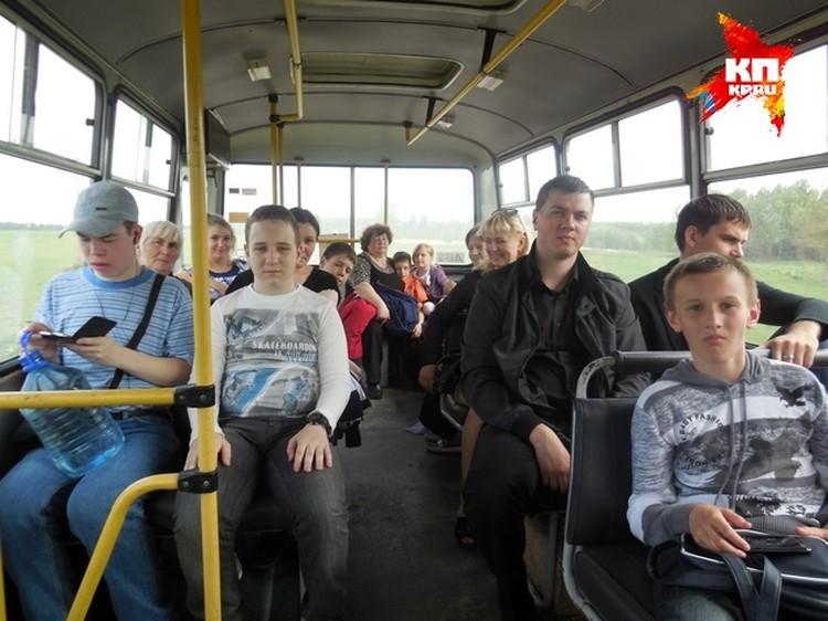 Чтобы попасть к началу Божественной литургии, ребята отправились в путь спозаранку.