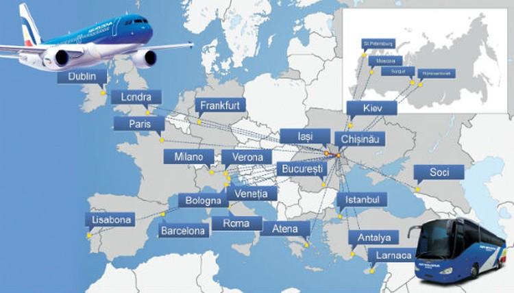 Все эти рейсы обслуживают всего пять самолетов.