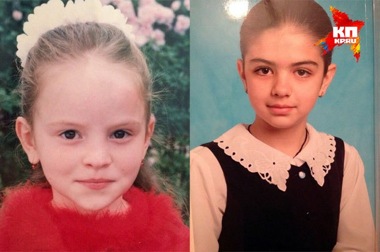 Диана Аликова и Анжела Сикоева в детстве. Фото: личный архив.