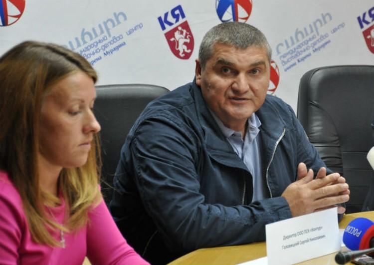Сергей Головицкий, руководитель подрядной организации ПСК «Контур»