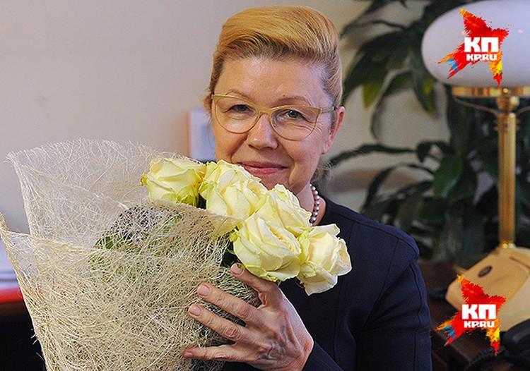 Дни рождения Елена Борисовна отмечает в кругу близких