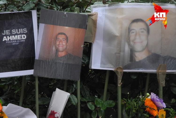 Во время нападения террористов на редакцию погиб полицейский-мусульманин