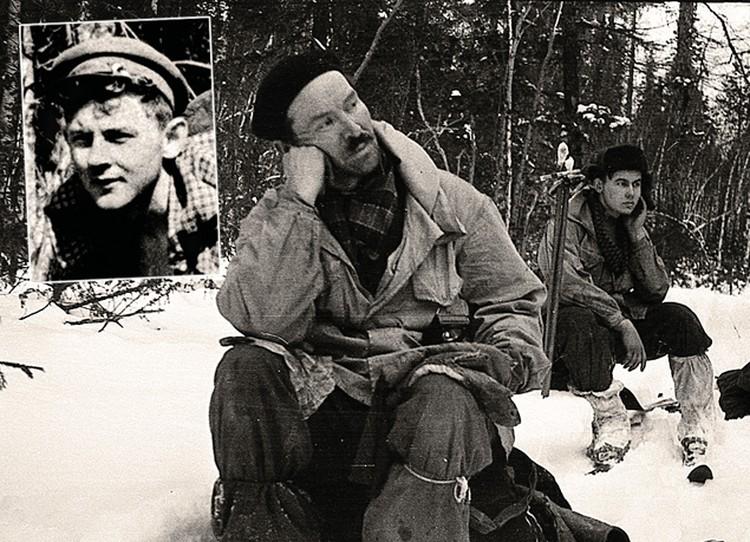 Семен Золотарев (в центре), Александр Колеватов (справа) и Юрий Кривонищенко - главные герои шпионской версии Ракитина. Фото: Фонд памяти группы Дятлова.