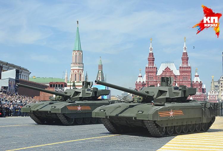 Военная техника прошла по Красной площади