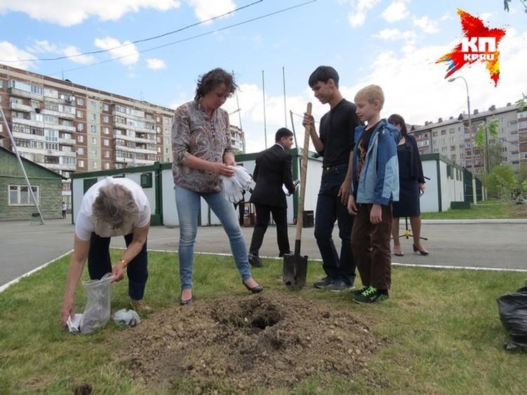 """К всероссийской акции """"Лес Победы"""" присоединилась школа №44"""