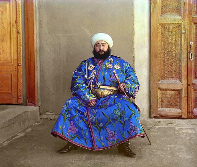 Побывал он и в Средней Азии.