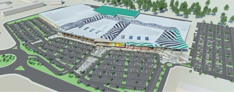 Площадь бывшего ипподрома освоят под ТРЦ, жилой комплекс и конноспортивную школу. Проект: «РосЕвроДевелопмент»