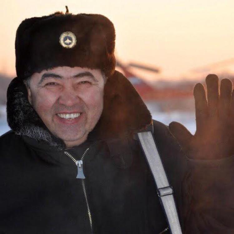 Второй пилот МИ-8 Даулят Сулкарнаев. Фото - соцсети