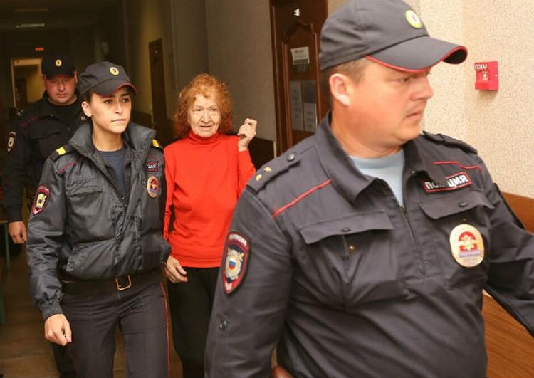 Пенсионерку арестовали на месяц.