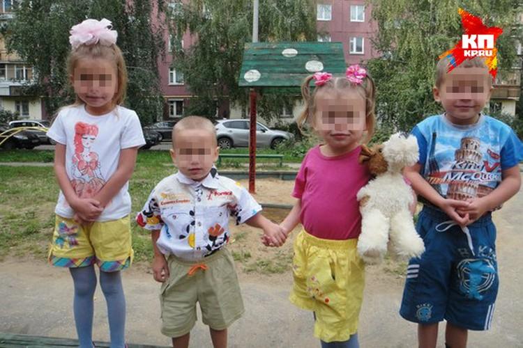С детьми оба родителя обращались жестко, спуску не давали.