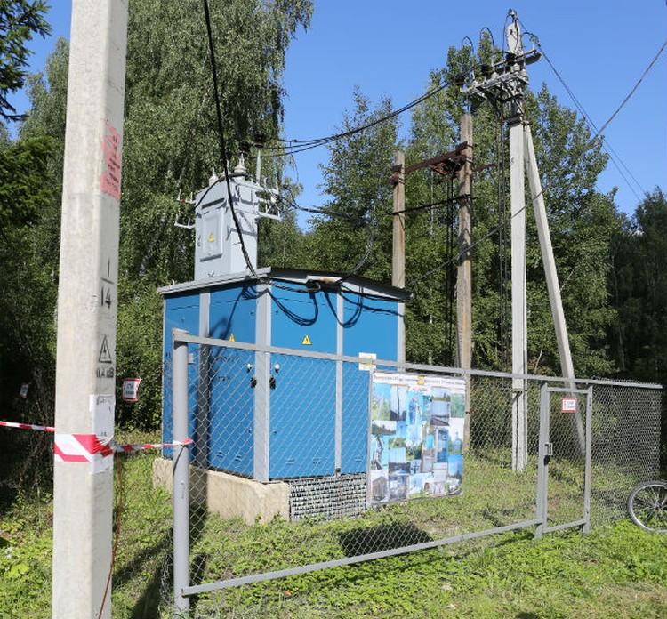 Новая трансформаторная подстанция, современные самонесущие изолированные провода  на новых железобетонных опорах обеспечили надежное электроснабжение садоводств. Фото: Елизавета Смирнова, АО «ЯрЭСК».