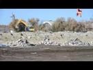 На центральном стадионе Волгограда расчищают площадку
