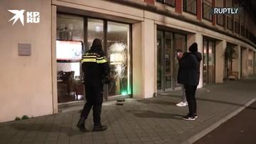 В Нидерландах прошли массовые протестные акции против правительственных мер по борьбе с коронавирусом