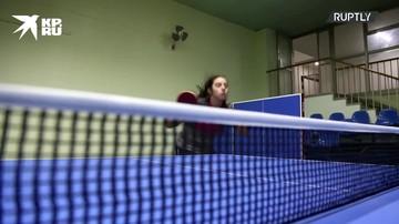 Одиннадцатилетняя сирийская теннисистка готовится к олимпиаде в Токио