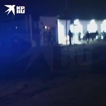 Видео с места нападения на двух сотрудников ППС в Махачкале