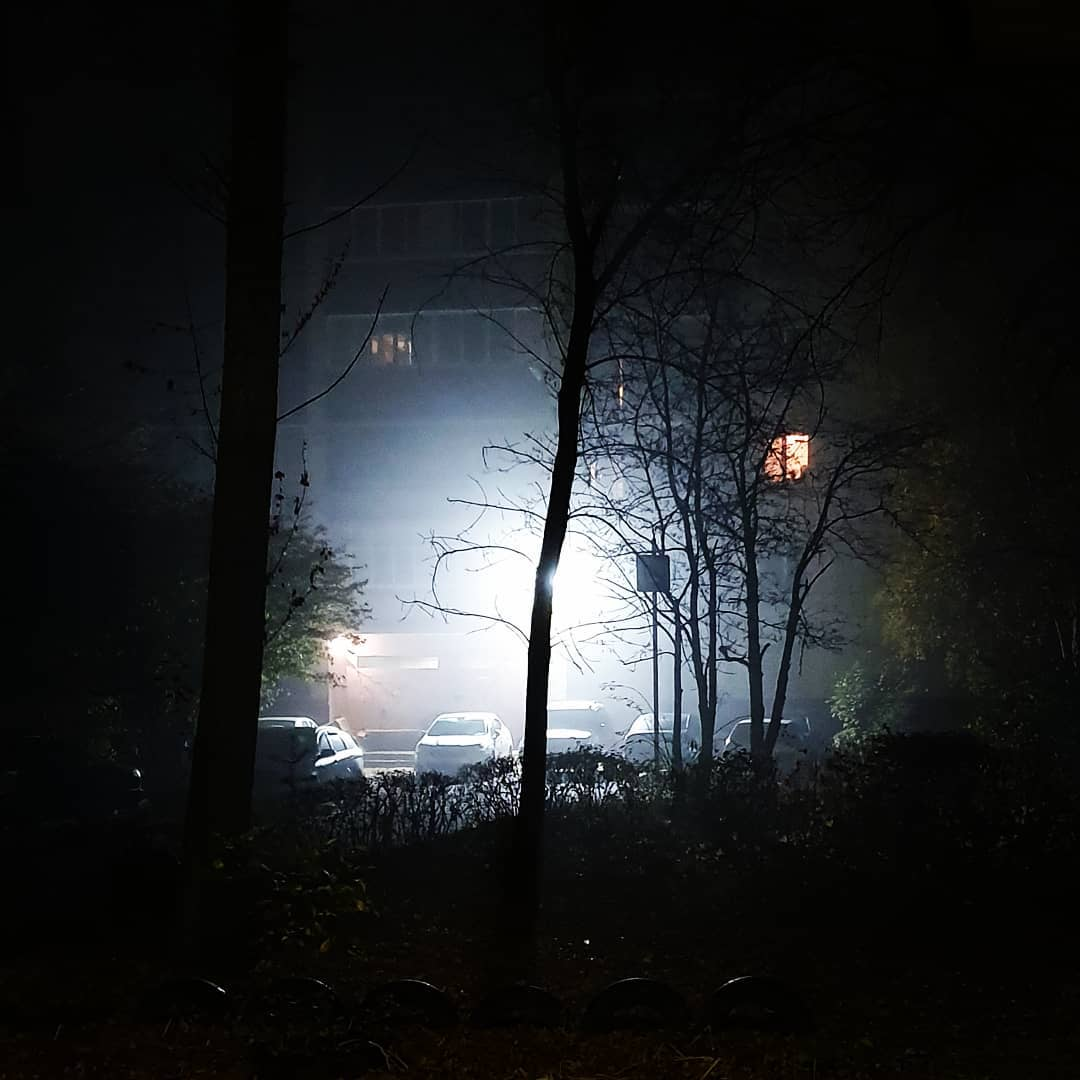 Туман в Липецке