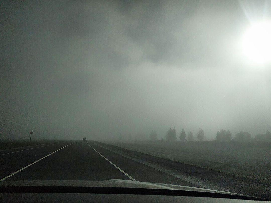 Фото тумана в Липецкой области