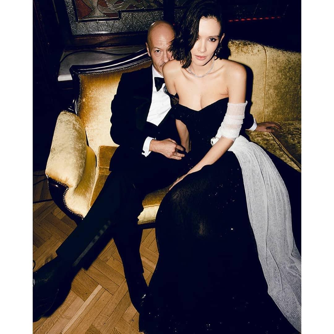 Harper's Bazaar - Black & White Gala#паулинаандреева #федорбондарчук #harpersbazaar