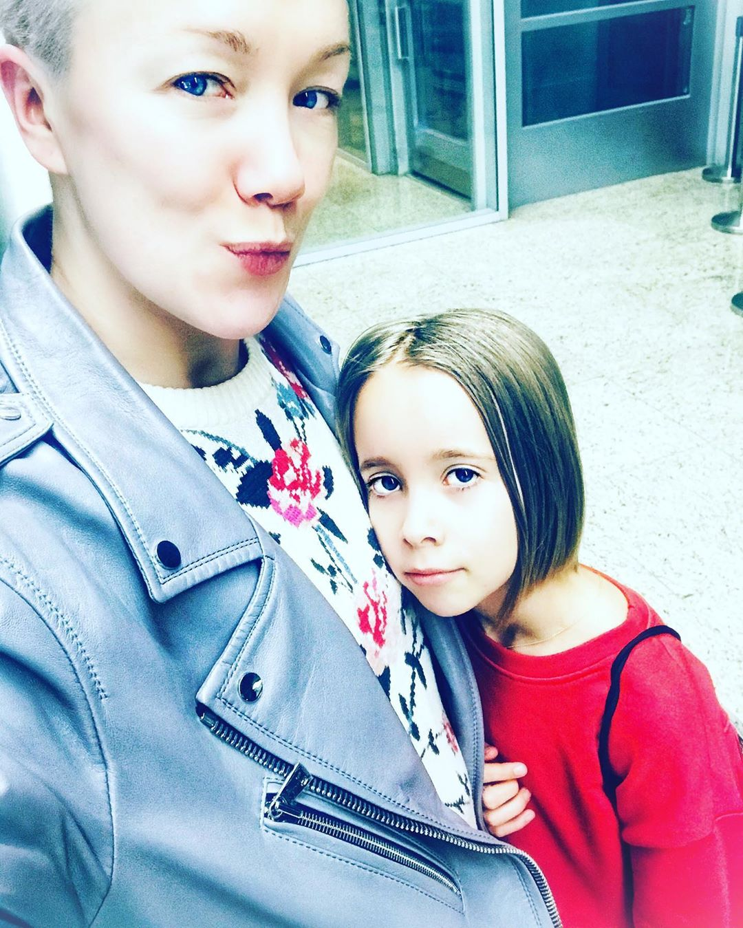 Дарья Мороз с дочкой Анной