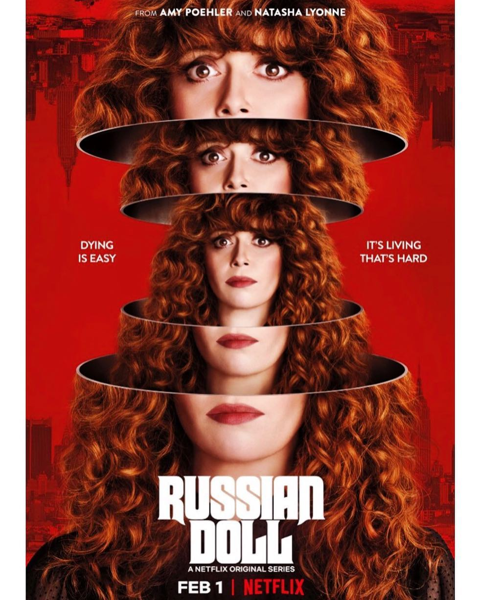 We made a show and it s pretty crazy and we hope you watch it. Russian Doll premieres February 1st on Netflix. Trailer link in bio. @russiandollnetflix