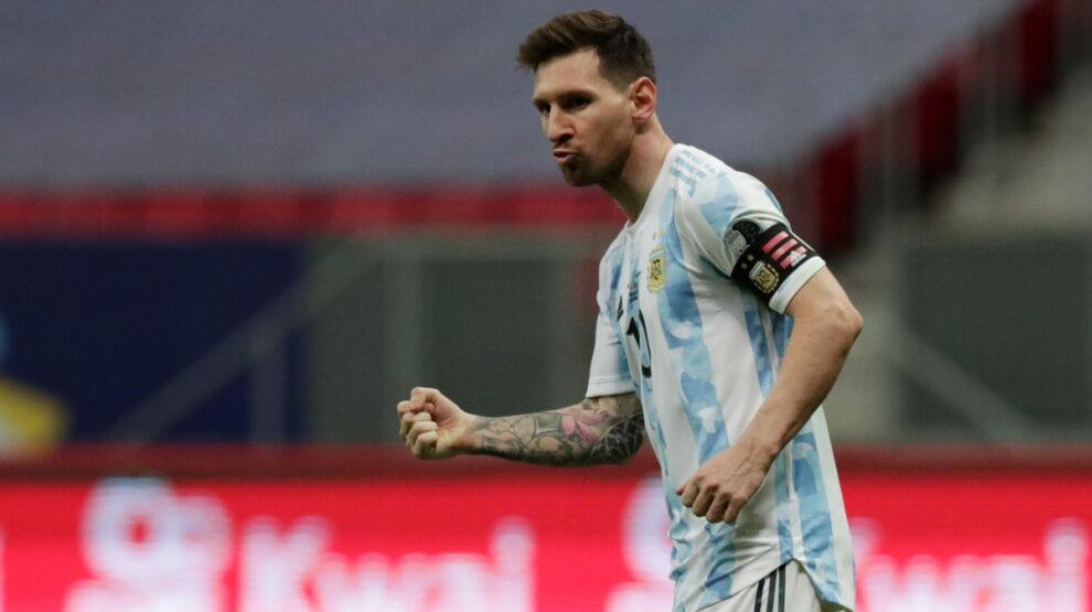 Месси финал Кубка Америки Копа Америка