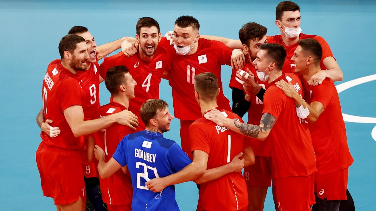 Россия победила США 3:1 на волейбольном турнире Олимпиады. Фото: REUTERS