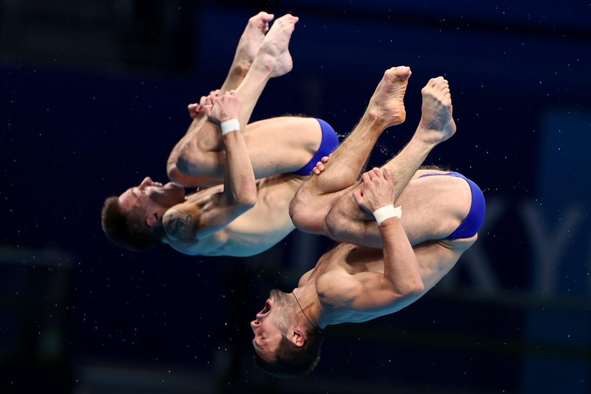 Виктор Минибаев и Александр Бондарь на Олимпиаде в Токио. Фото: REUTERS
