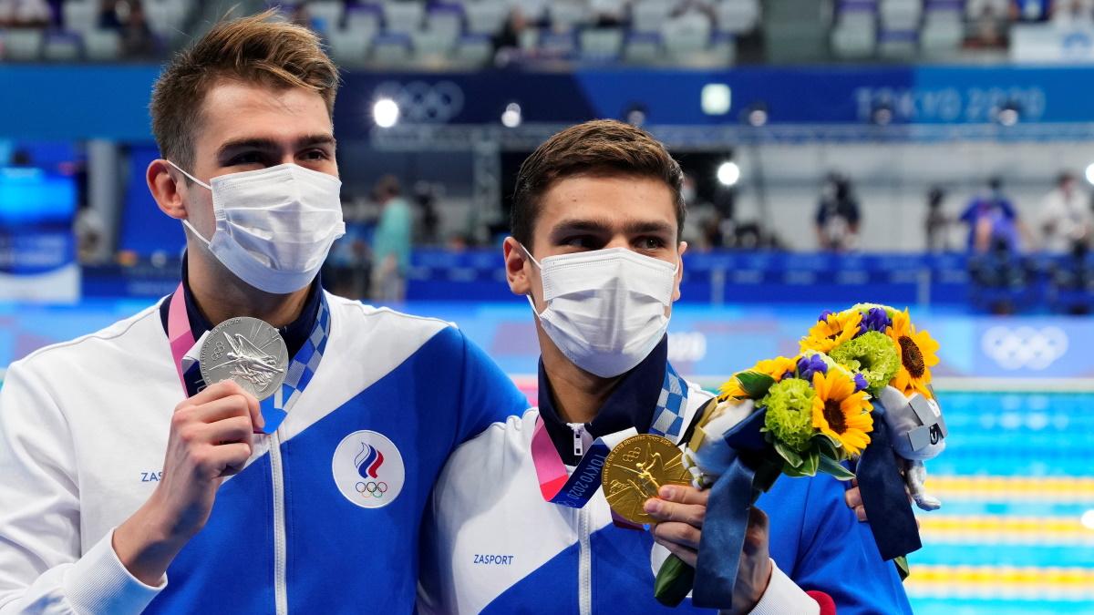 Пловцы Рылов и Колесников отлично выступили в Токио. Фото: REUTERS