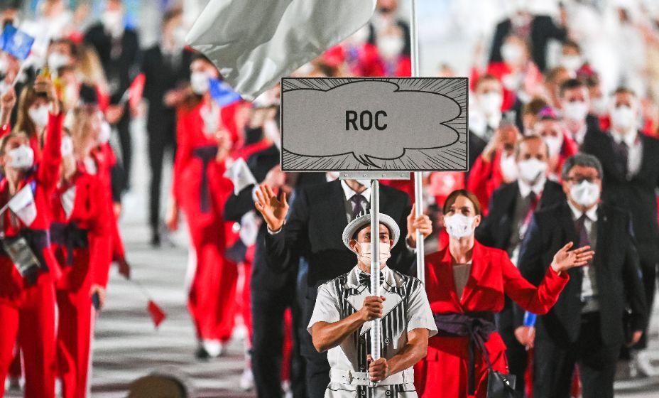 Сборная России на Олимпиаде-2020 выступала под аббревиатурой ROC. Фото: Global Look Press