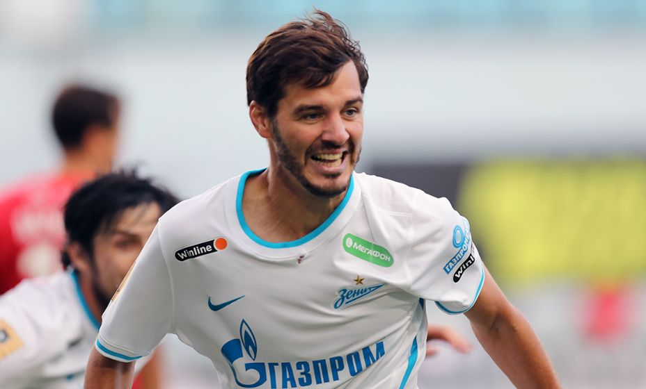 Александр Ерохин становится главным бомбардиром  питерской команды: он забил уже 5 мячей. Фото: РПЛ