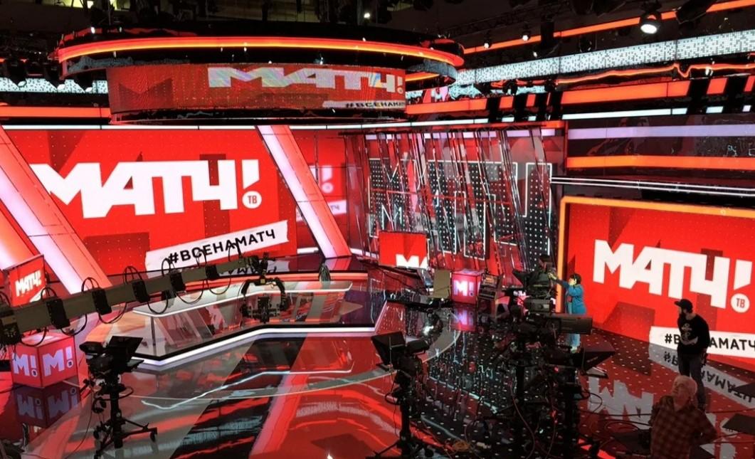 «Матч ТВ» продолжить показывать чемпионат России по футболу с 2022 по 2026 год. Фото: Твиттер «Матч ТВ»