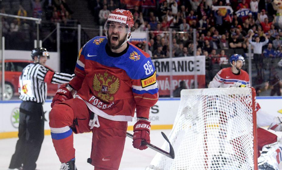 Нападающий Никита Кучеров был одним из первых включен в состав сборной России. Фото: Global Look Press